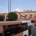 Autobuses en Marrakech