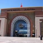 Trenes en Marrakech