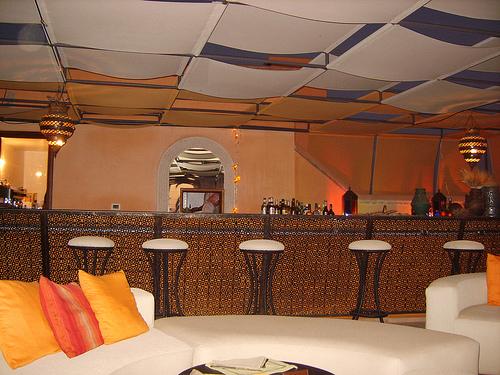Restaurante Le Café Árabe